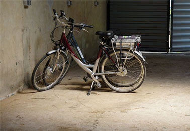 Fietsenstalling en E-Bike oplaadpunt