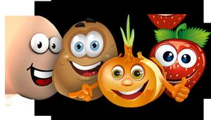 Groente en fruit uit de boerderijautomaat