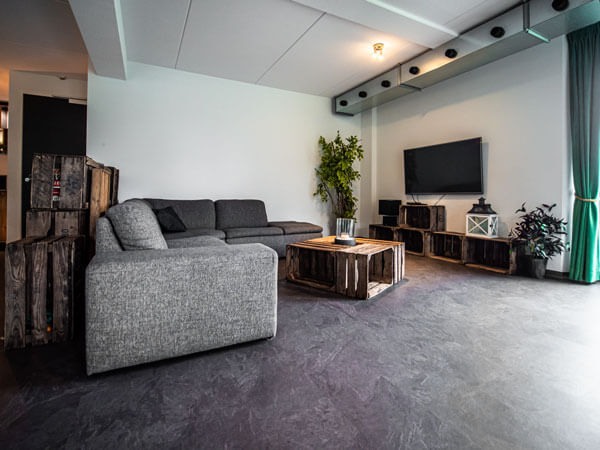 Huiskamer Bed en Breakfast omgeving Nijmegen