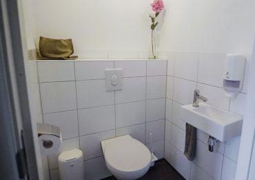 Groepaccommodatie aparte toiletruimte