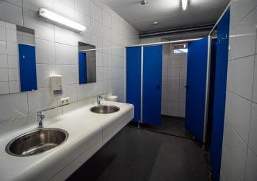 Groepaccommodatie sanitair